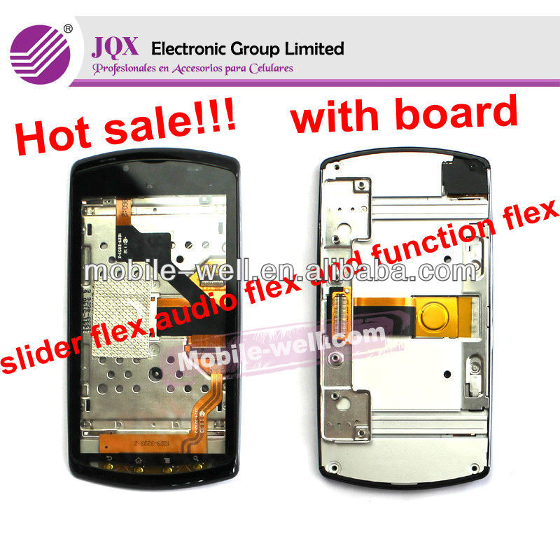for Sony Ericsson R800 7.0 Version touch screen digitizer with board with flex cable complete