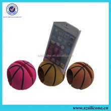 silicone i6/6s amplifier 2015 new arrival silicone football speaker ,
