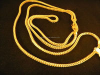 Gold Necklace For Men 24 inches Franco Gold Chain