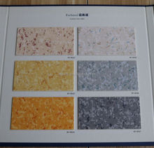 Anti-skidding customized pvc sparkle vinyl flooring with CE/ISO