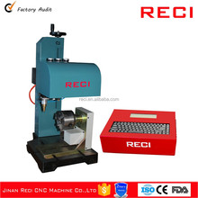 RECI desktop table dot peen marking machine with long performance life