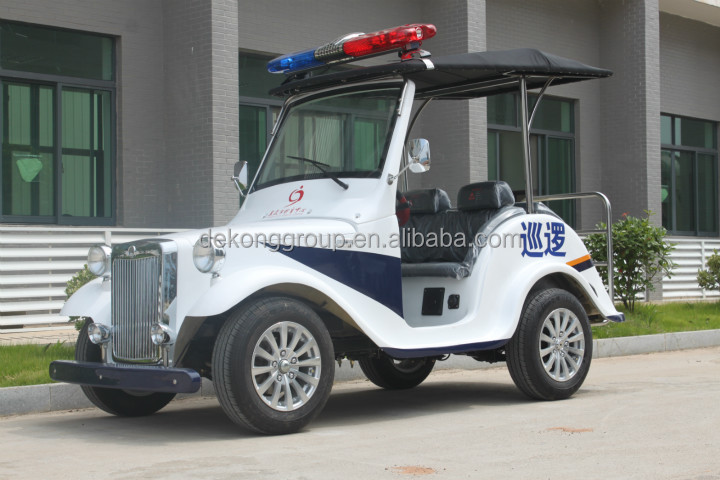 EEC certification 4 seats Ultra-mini patrol electric car made in China