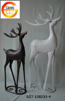 Artificial Christmas deer for table decoration
