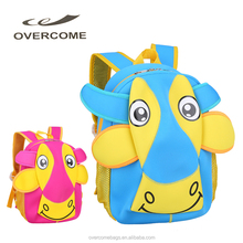 Hot Sell Cute Design Cow Printing EVA Kids Backpacks