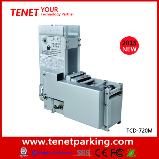 Automatic Card Reader ~ Ce approved issuing machine automatic card ticket