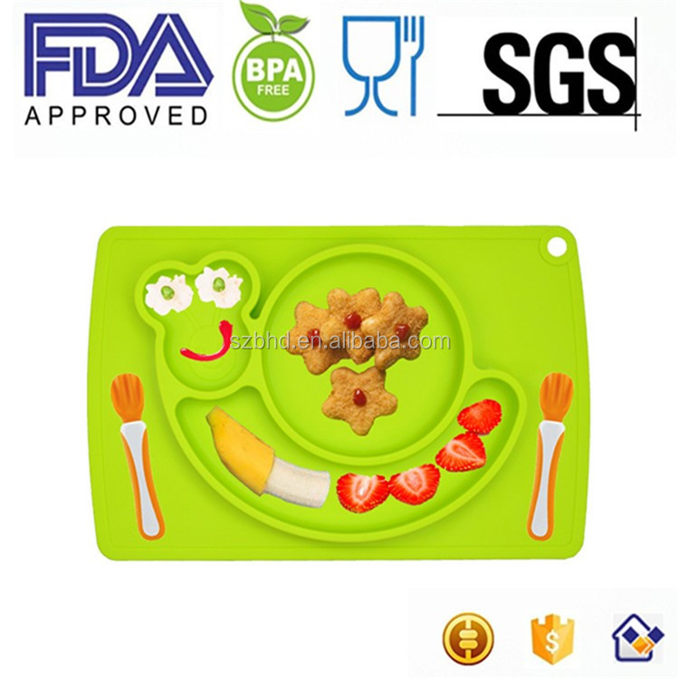 silicone placemat for kids,silicone baby placemat