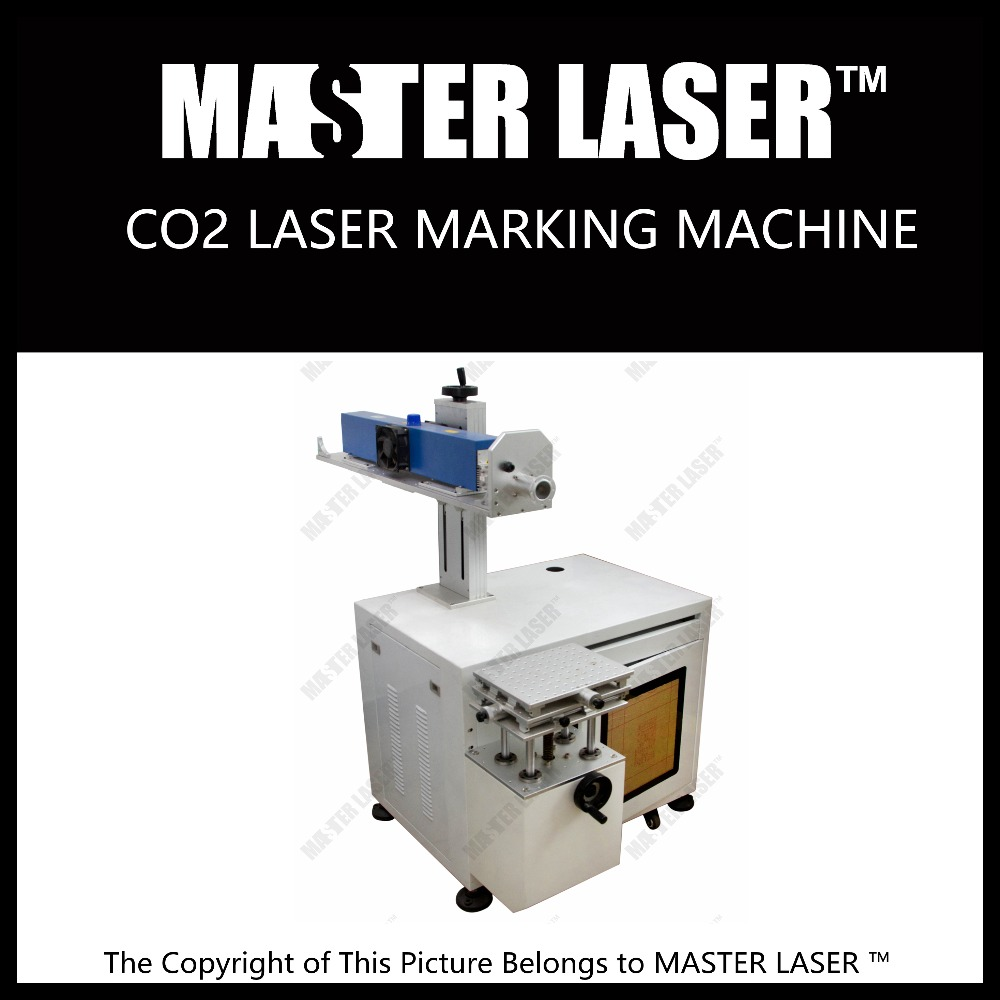 Easy operated 10W CO2 laser engraving machine for gold & silver