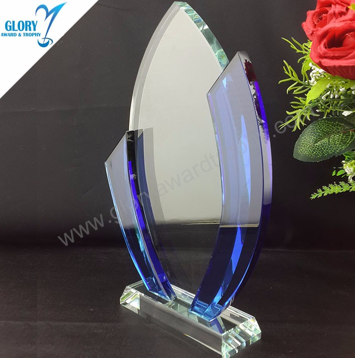Wholesale Blank Crystal Plaque Award for Engraving