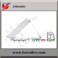 China heavy mining rear dump semi trailer widely used tipper truck trailer