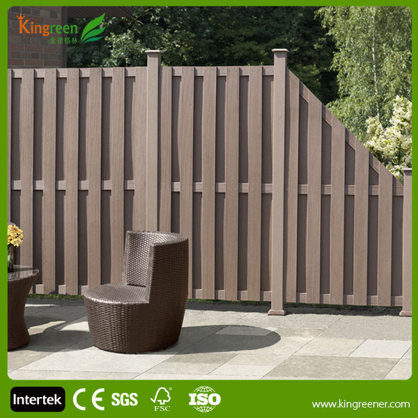 Decorative Fence Panels Wood and Outdoor Environmental WPC Fence Panels