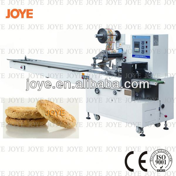 Snack Food/ Biscuit/ Pancake/Candy Pillow Type Packing Machine JY-300 With Competitive Price