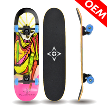 9 Ply China Maple Cutting Board LED Flashing Luminous Skateboard Cheap Skateboards Under 20