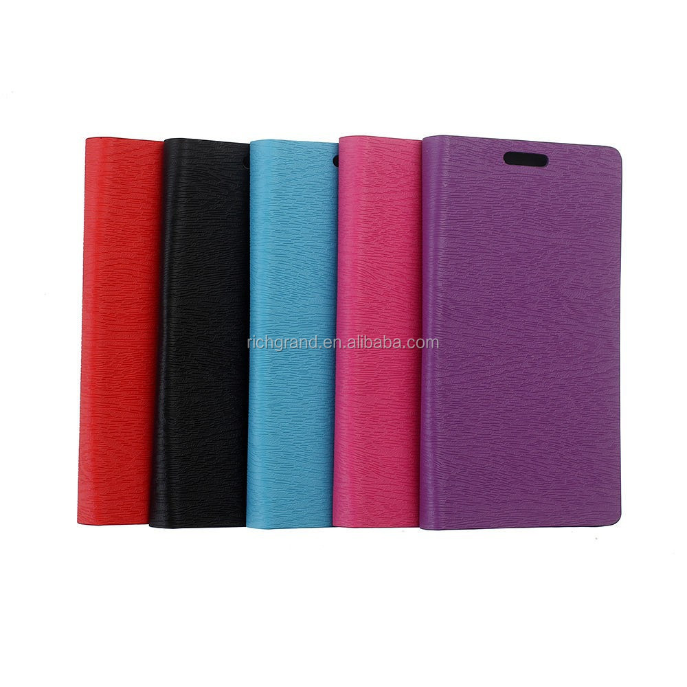 Card slot wallet leather case flip cover pouch for LG G Flex 2 F510L 5 colors