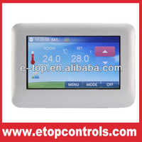 Color Touch Screen Temperature Controller Thermostat