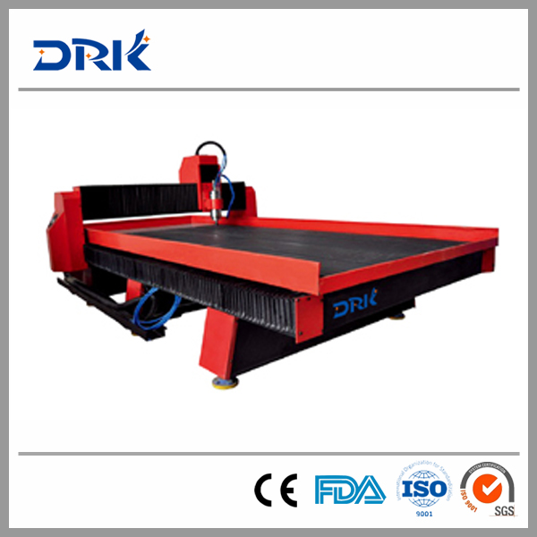 Shandong Jinan 3.0/4.5kw cnc stone rock engraving machine 1300*2500