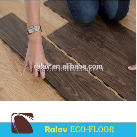 Ralav best price luxury vinyl tile click pvc flooring for hotel project