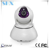 Free Shipping!Android&IOS APP Supported H.264/720P/360 viewerframe/ PTZ/ P2P lost cost wifi wireless ip camera