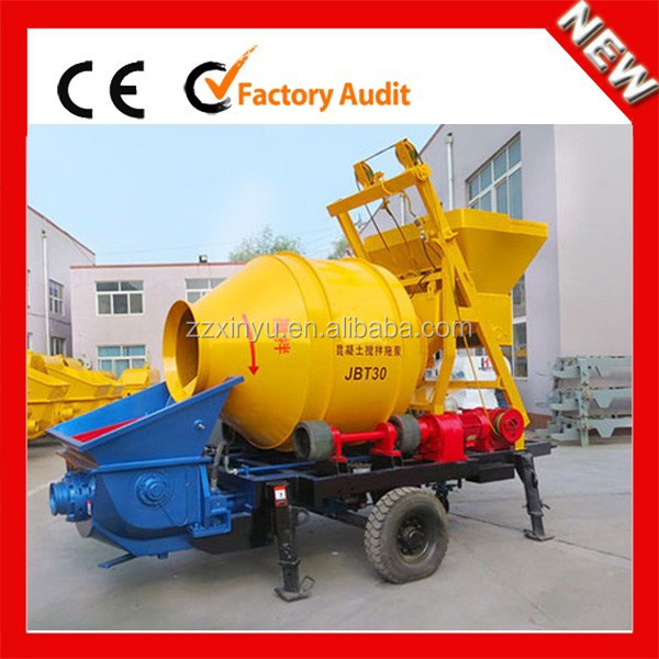 XINYU hot sale concrete mixer pump and batching plant