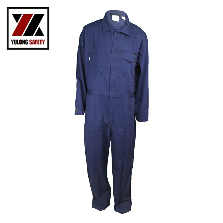 100% Cotton Arc Flash Fire Retardant Welding Safety Clothing for Workers