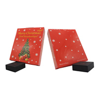 Promotional christmas gift packing spot color printing small gift boxes fancy gift box for sale