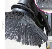 bristles vacuum road sweeper vacuum street sweeper electric street sweeper