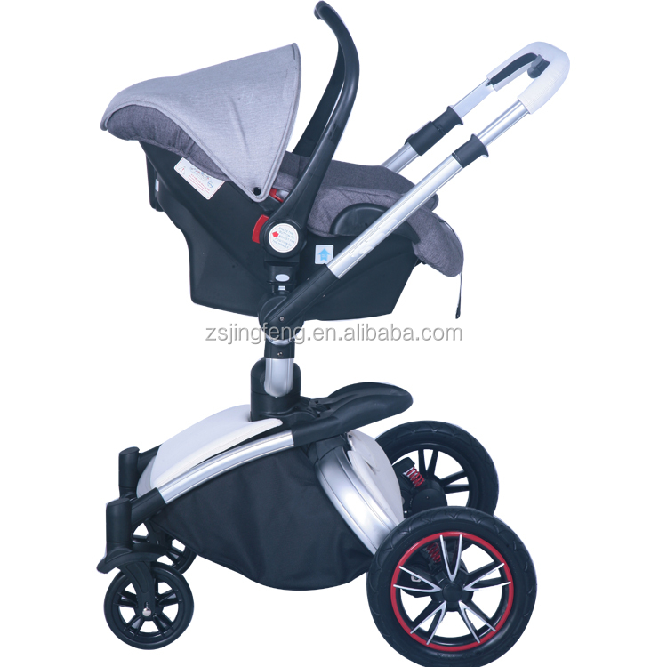 Hot Design Baby Carrier With Big Wheels 3 In 1 Pu Leather Stroller Buy Pu Leather Stroller Baby Stroller With Big Wheels Baby Stroller Big Wheel 3in