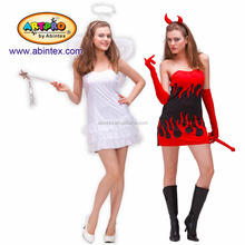 Angel and Devil reversible 2-in-1 costume (09-332) as lady sexy costume,
