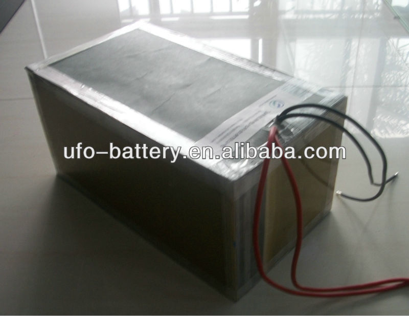 48V 30Ah 16S3P LiFePO4 Battery Pack With PCM For Electric Car