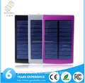 Colorful smart solar power bank 5000mah