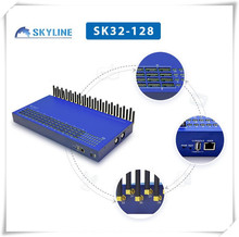 Big promotion for VOIP GOIP GSM 32 Ports 128 SIM Cards Gateway support anti sim cards blockage
