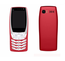 Cheapest price 6100 2.2 inch MTK6261D chipset 4 sim card 4 standby cellphone