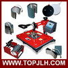 New Arrival TOPJLH 8 in 1 Combo Heat press machine for Mug plate Cap T-shirt press