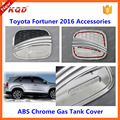 toyota fortuner accessories 2015 2 colors/tone oil tank cover for new toyota fortuner gas tank cap cover for kit fortuner