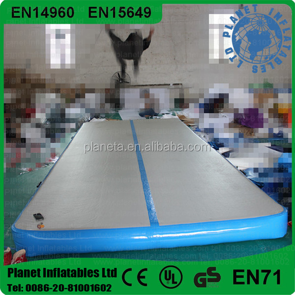 Durable Drop Stitch Inflatable Air Tumble Track For Gymnastic Training
