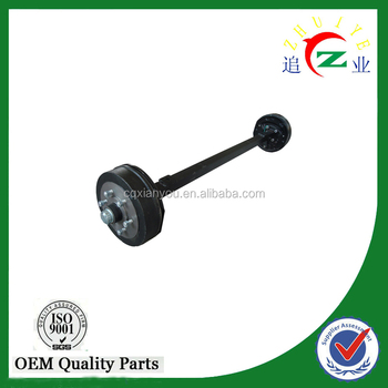 chinese manufacturer high quality agricultural trailer axle and semi trailer axle