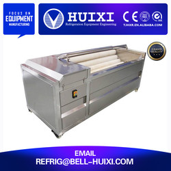 industrial pumpkin fruit and vegetable washing and drying machine