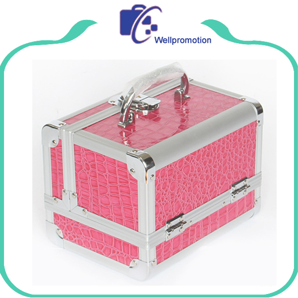 Hot sale professional aluminum cosmetic hard case