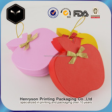 OEM Apple/Hexagonal/Heart Shaped for Christmas/Holiday Used Gift Candy Box