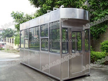 2015 china Light steel small house/container Sentry Box/garden house