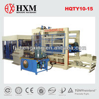 Concrete block brick machine(HQTY10-15)(QT10-15)