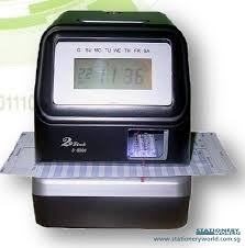 job card time punching machine - Time Card Machine
