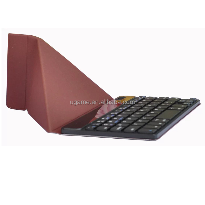 <strong>New</strong> For Mini Bluetooth Keyboard Pro w/Leather Case for iPad mini Brown