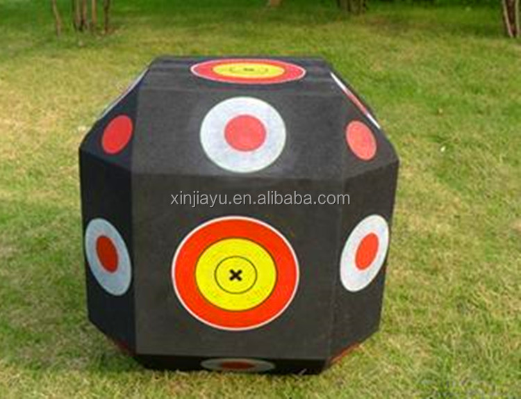 Hot selling Self-healing Foam 60X60cm printed Archery target for shooting OEM
