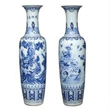 living room decoration large chinese ceramic floor vases