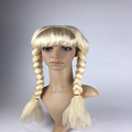 Fancy hot selling bavarian girl wig