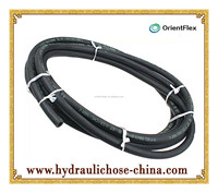 Gasoline rubber Hose /rubber fuel oil hose/Fiber Biraded Rubber Hose for oil