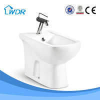 Bathroom female sanitary ceramic manual bidet