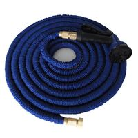 Spray Nozzles Expandable Garden Hose Flexible Stretch Hose
