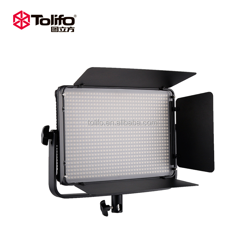 Tolifo 2017 Global First Design High Quality 1008pcs 60 Watts slim shooting LED light panel LED video light LED shooting light