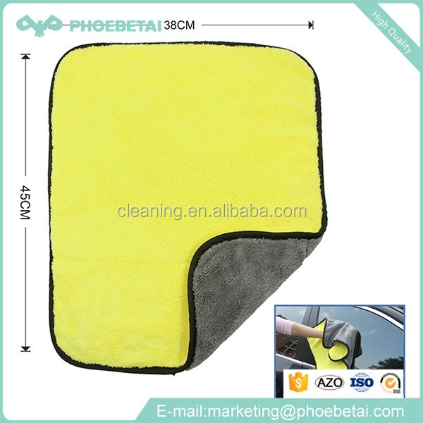 Cambodia factory cheap price car detailing microfiber polishing towel for car